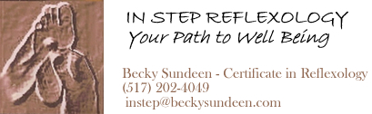 Welcome to In Step Reflexology in Lansing, Michigan